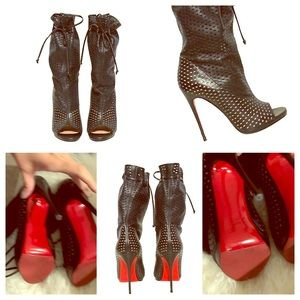 Hot Tall Sexy ! Christian Louboutin boots